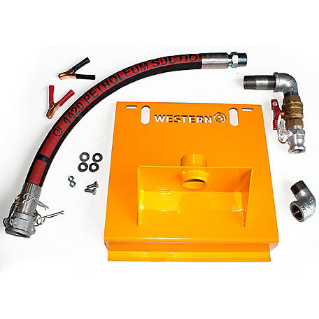 Western Global Pump Bracket Kit for GPI M-1115 and M-150 Pumps for FuelCube and Abbi Tanks