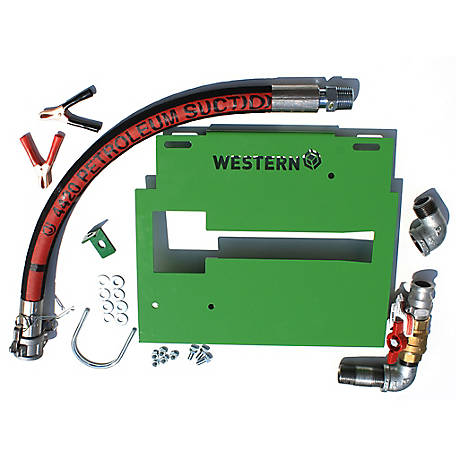 Western Global Pump Bracket Kit for GPI M-3025 Pumps for FuelCube and Abbi Tanks