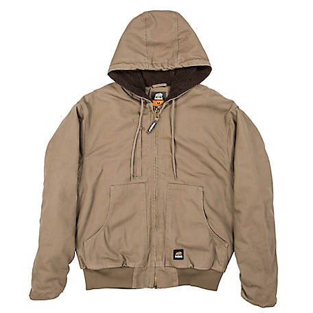 aefe5d47b Berne Flex 180 Washed Duck Arctic Sherpa-Lined Hooded Jacket at Tractor  Supply Co.