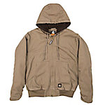 Berne Flex 180 Washed Duck Arctic Sherpa-Lined Hooded Jacket