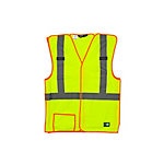 Berne Class 2 Hi-Visibility Easy-Off Safety Vest