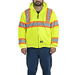 Berne Class 3 Hi-Visibility Insulated Hooded Active Jacket