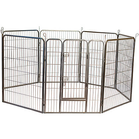 Iconic Pet Heavy Duty Metal Tube Pet Exercise And Training Pen At Tractor Supply Co