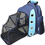 Iconic Pet FurryGo Luxury Backpack Pet Carrier with Lounge