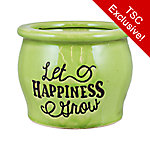 Trisha Yearwood Home Collection Small Planter with Words