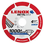 Lenox METALMAX Diamond Edge Cutoff Wheel, 4.5 in. x 7/8 in.