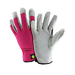 John Deere Women's Split Cow Leather Palm Gloves