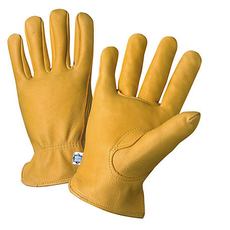 West Chester Men's Small Deerskin Leather Driver Gloves