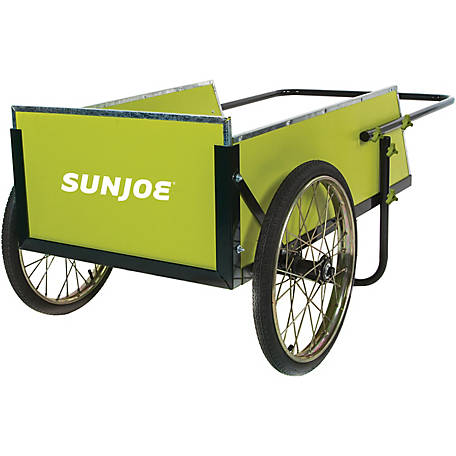 Sun Joe SJGC7 Garden & Utility Cart, 7 cu. ft., 300 lb. Capacity