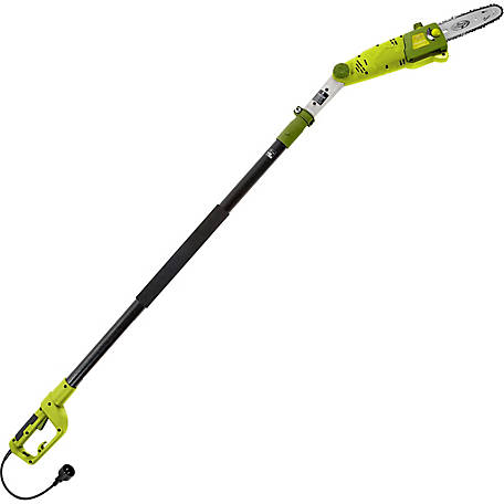 Sun Joe SWJ802E Electric Multi-Angle Pole Chain Saw, 8 in., 6.5A
