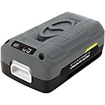 Snow Joe + Sun Joe iBAT40-LTE EcoSharp LITE Lithium-Ion Battery, 40V 2.0 Ah