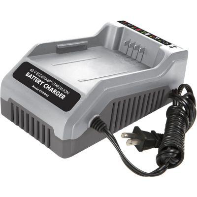 Buy Snow Joe + Sun Joe iCHRG40 EcoSharp Lithium-Ion Battery Charger; 40V 2A Online