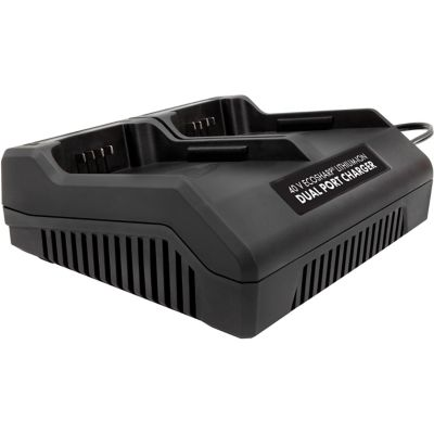 Buy Snow Joe + Sun Joe iCHRG40-DPC EcoSharp Lithium-Ion Battery Dual Port Charger; 40V 1.5A Online