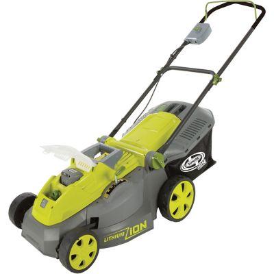 Sun Joe 16 in. iON16LM Cordless Lawn Mower, 40V, Brushless Motor