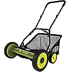 Sun Joe 18 in. MJ501M Manual Reel Mower with Grass Catcher