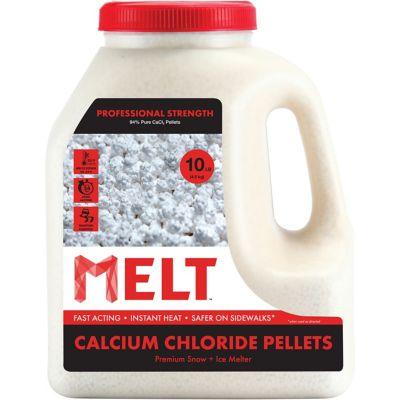 Buy Melt 10 Lb. Jug Calcium Chloride Pellets Professional Strength Ice Melter Online