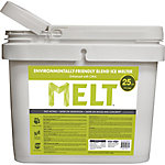 Melt 25 Lb. Bucket Premium Environmentally-Friendly Blend Ice Melter with CMA