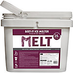 Melt 25 Lb. Bucket Beet-It Ice Melter with CMA & Beet Extract