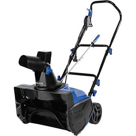Snow Joe SJ618E Electric Single Stage Snow Blower, 18 in., 13A Motor
