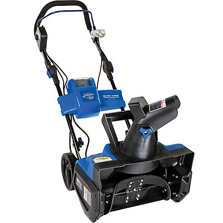 Snow Joe iON18SB Cordless Single Stage Snow Blower, 18 in., 40 Volt, Brushless