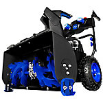 Snow Joe ION8024-XR Cordless Two Stage Snow Blower, 24 in., 80V 2 x 5 Ah Batteries, 4-Speed Headlights