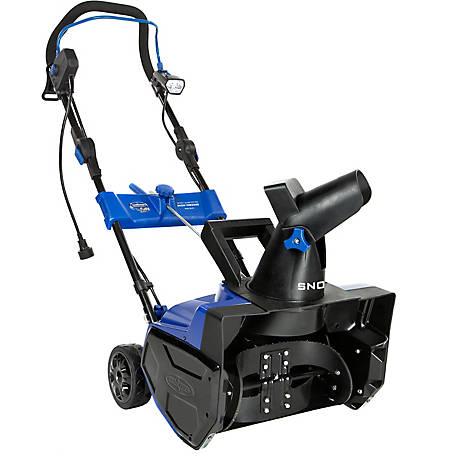 Snow Joe SJ619E Electric Single Stage Snow Blower, 18 in., 14.5A Motor