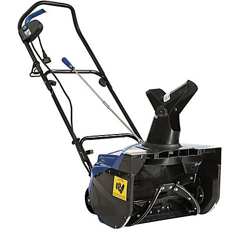 Snow Joe SJ620 Electric Single Stage Snow Blower, 18 in., 13.5A Motor