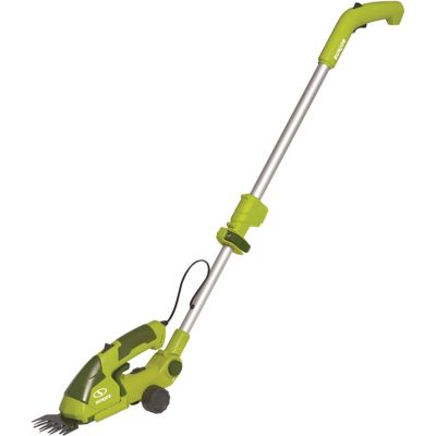 Sun Joe HJ605cc 2-in-1 Electric Telescoping Grass Trimmer, 7.2 Volt