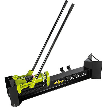 Sun Joe LJ10M Hydraulic Log Splitter, 10-Ton