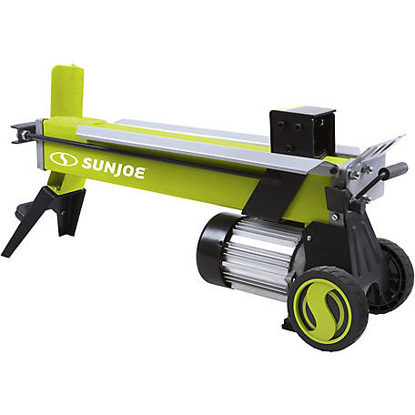 Sun Joe LJ602E Electric Log Splitter, 5-Ton 15A, Hydraulic Ram