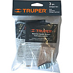 Truper 3-Pack Wedges for Sledge, Mauls and Small Hammers