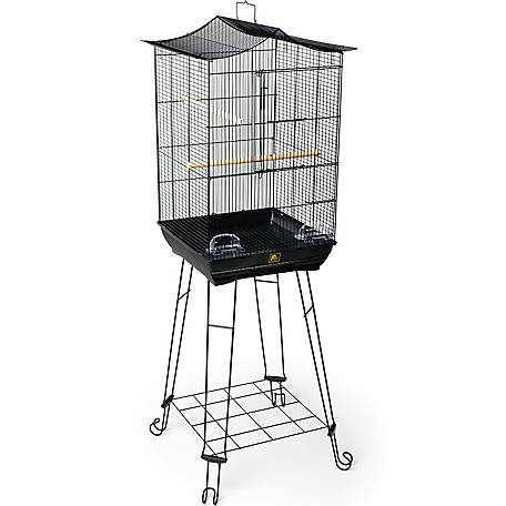 Prevue Pet Products Penthouse Suites Crown Roof Cage with Stand 262
