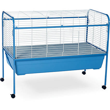 Prevue Pet Products Small Animal Cage with Stand 620, Blue and White, 47 in. x 22 in. x 37 in.