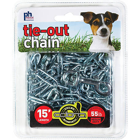Prevue Pet Products Medium-Duty 15 ft. Tie-Out Chain 2114
