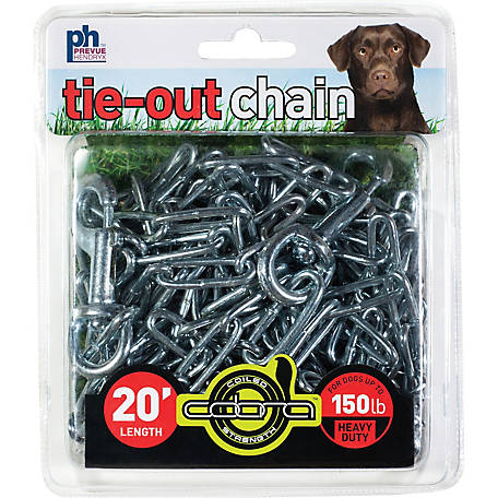 Prevue Pet Products Heavy-Duty 20 ft. Tie-Out Chain 2117