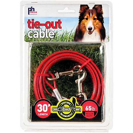 Prevue Pet Products Medium-Duty 30 ft. Tie-Out Cable 2121