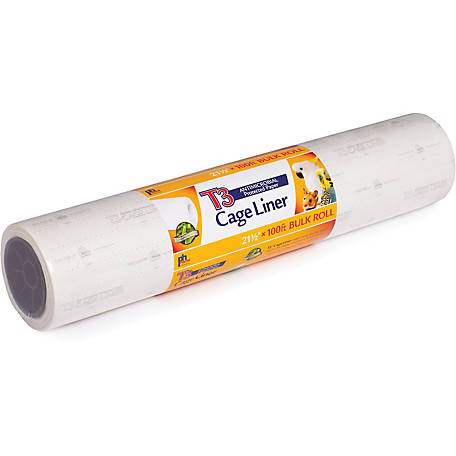 Prevue Pet Products T3 Antimicrobial Cage Liner, 21.5 in. x 100 foot roll