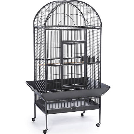 Prevue Pet Products Large Dometop Bird Cage Black Hammertone 34531