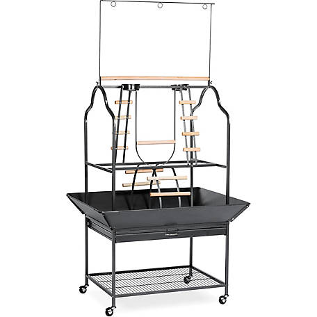 Prevue Pet Products Parrot Playstand 3180BLK