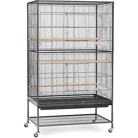 Prevue Pet Products Wrought Iron Flight Cage With Stand Chalk At Tractor Supply Co