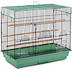 Prevue Pet Products Flight Cage, Sage & Black, 26 in. x 14 in. x 22-1/4 in.