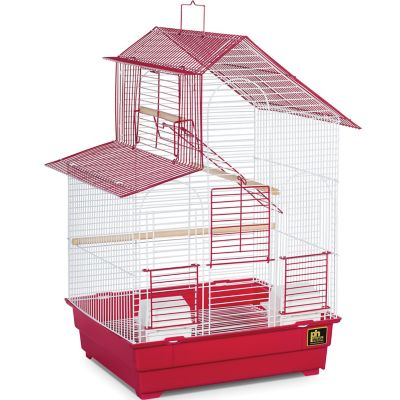 Prevue Pet Products Two-Tone House Style Bird Cage SP41614