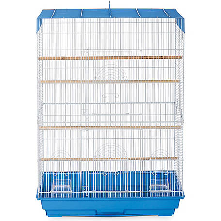 Prevue Pet Products Flight Cage, Blue & White, 26 in. x 14 in. x 36 in.