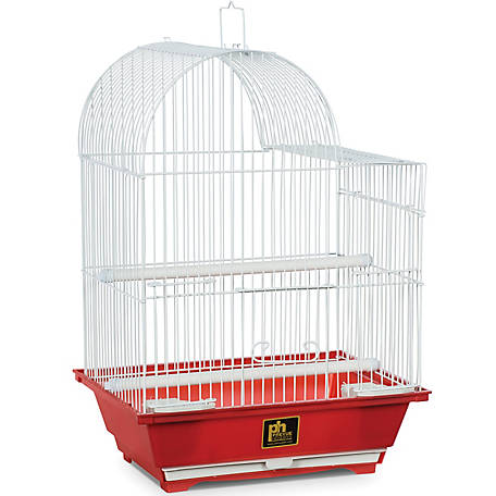 Prevue Pet Products Small Red Bird Cage, 11-1/4 in. x 9 in. x 16-1/4 in.