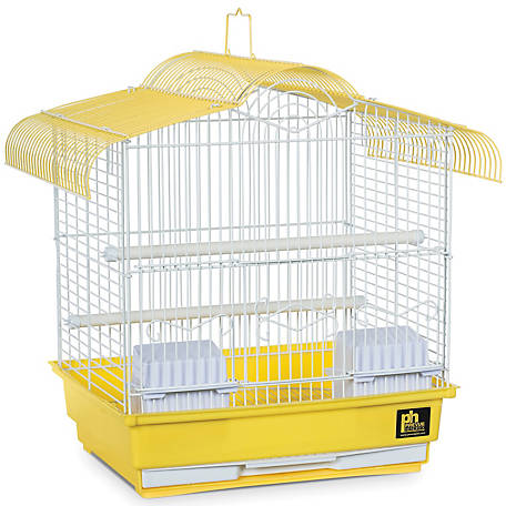 Prevue Pet Products Small Yellow Bird Cage, 13-1/2 in. x 11 in. x 16 in.
