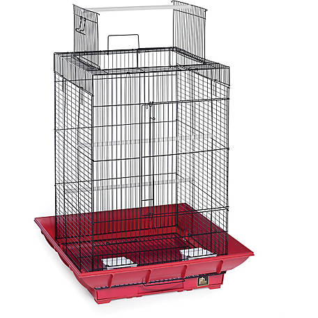 Prevue Pet Products Clean Life Play Top Cage SP851