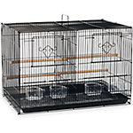 Prevue Pet Products Divided Flight Cage Black SPF06