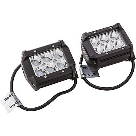 Battle Armor 4 in. 18W Spot Light Pods