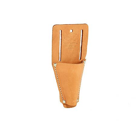 Bucket Boss Leather Open End Pliers Holder