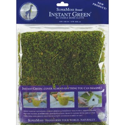 SuperMoss Moss Mat 18 in. x 16 in.; Green